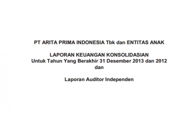 2013 - Audited - Financial Report